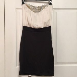 NWT Charlotte Russe Strapless Party Evening Dress